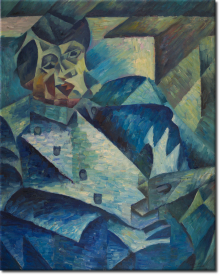 Hommage an Pablo Picasso in 80x101cm