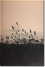 Das einsame Gras in 66x96cm (Variante 02)