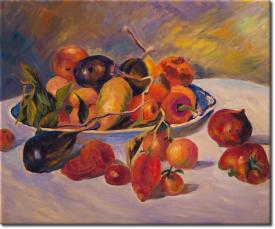 Stilleben mit Früchten aus dem Süden in 63x53cm (Variante 03)