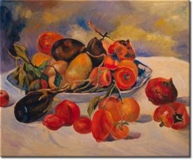 Stilleben mit Früchten aus dem Süden in 63x54cm (Variante 04)