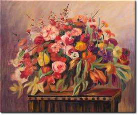 Stilleben mit Blumen in 64x54cm (Variante 05)