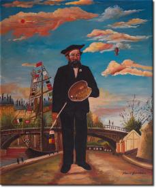 Porträt einer Landschaft in 51x61cm (Variante 01)