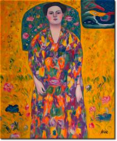 Bildnis Eugenia Primavesi in 53x63cm (Variante 02)