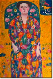 Bildnis Eugenia Primavesi in 63x94cm (Variante 02)
