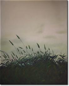 Das einsame Gras in 84x104cm