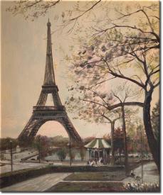 Anthoni Levers - Der Eiffelturm in 54x63