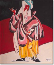 Der Priester in 53x62cm (Variante 01)