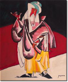 Der Priester in 53x63cm (Variante 02)