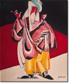 Der Priester in 53x61cm (Variante 03)