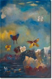 Schmetterlinge II in 68x98cm (Variante 02)