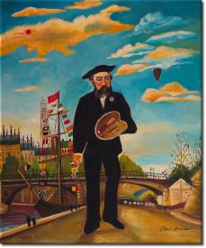 Porträt einer Landschaft in 50x61cm (Variante 02)