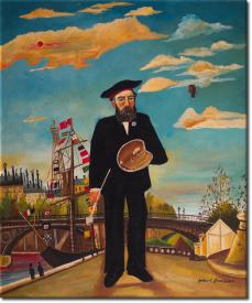 Porträt einer Landschaft in 50x61cm (Variante 03)