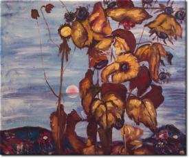 Sonnenblumen IV in 61x51cm (Variante 03)
