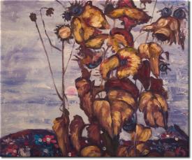 Sonnenblumen IV in 60x51cm (Variante 05)