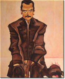 Bildnis Eduard Kosmack in 53x63cm (Variante 01)